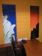 Reception panel